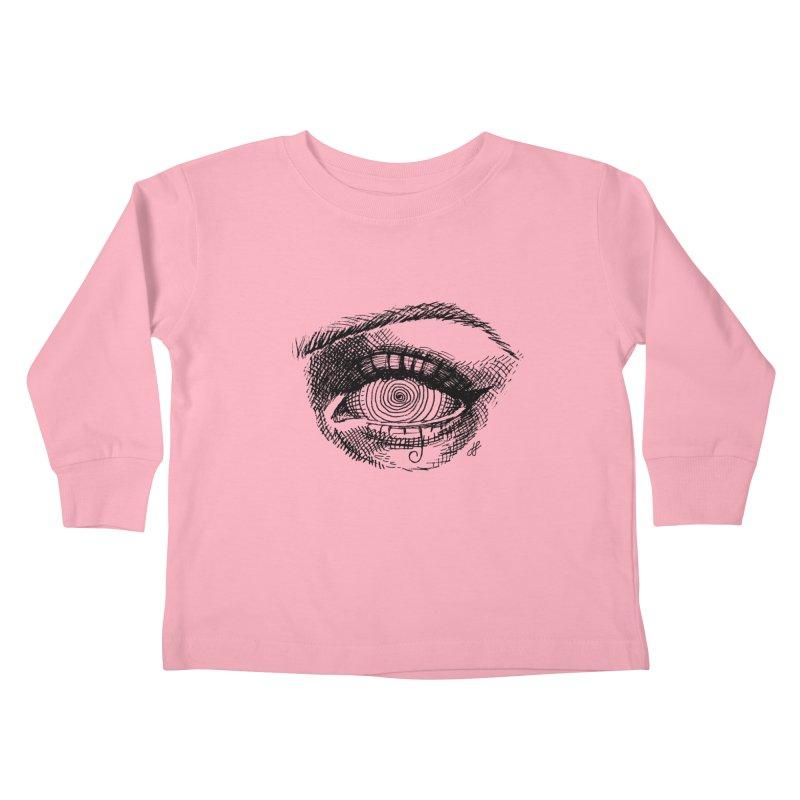 """spell"" Kids Toddler Longsleeve T-Shirt by J. Lavallee's Artist Shop"
