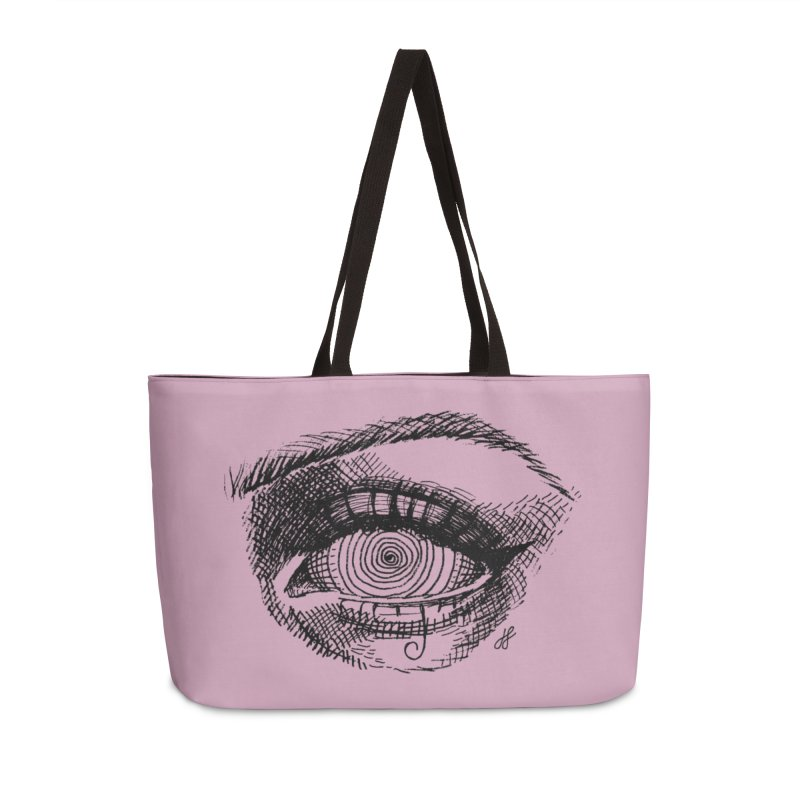 """spell"" Accessories Weekender Bag Bag by J. Lavallee's Artist Shop"