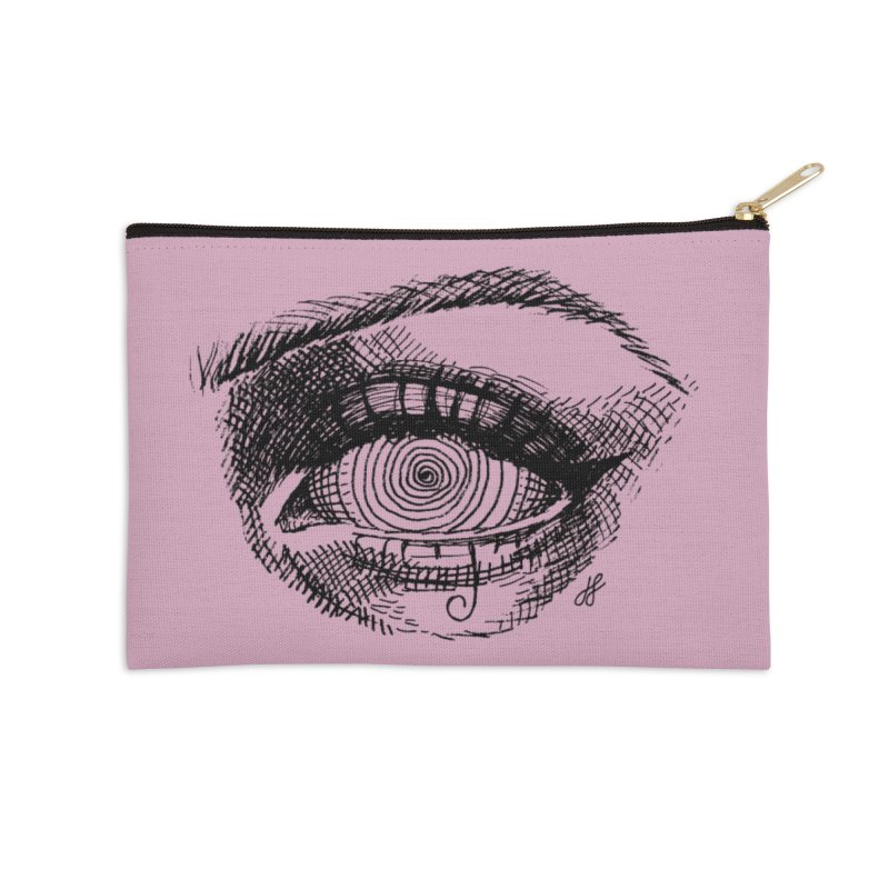 """spell"" Accessories Zip Pouch by J. Lavallee's Artist Shop"