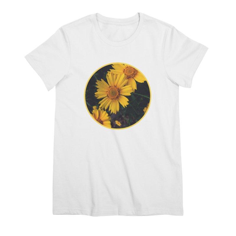 flowers #1 Women's Premium T-Shirt by J. Lavallee's Artist Shop