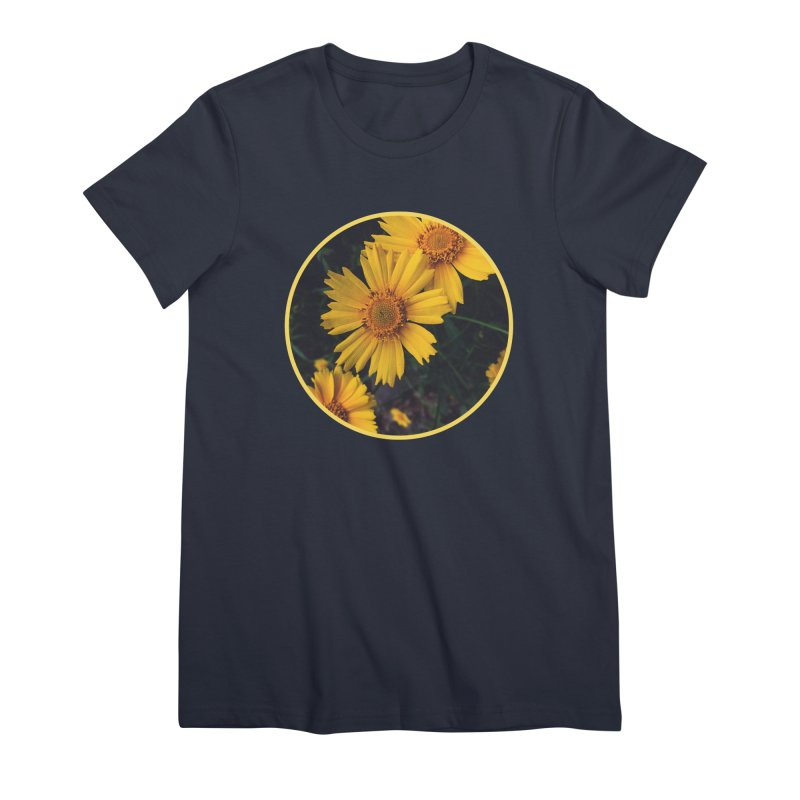 flowers #1 Women's Premium T-Shirt by J. Lavallee's Artist Shop