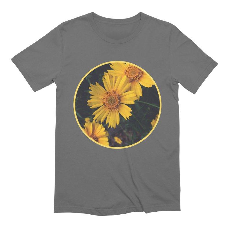 flowers #1 Men's T-Shirt by J. Lavallee's Artist Shop