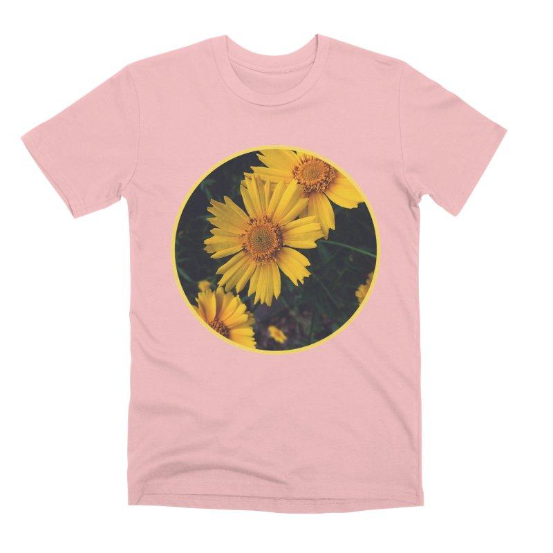 flowers #1 Men's Premium T-Shirt by J. Lavallee's Artist Shop