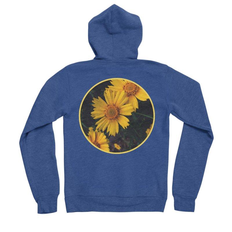 flowers #1 Men's Sponge Fleece Zip-Up Hoody by J. Lavallee's Artist Shop