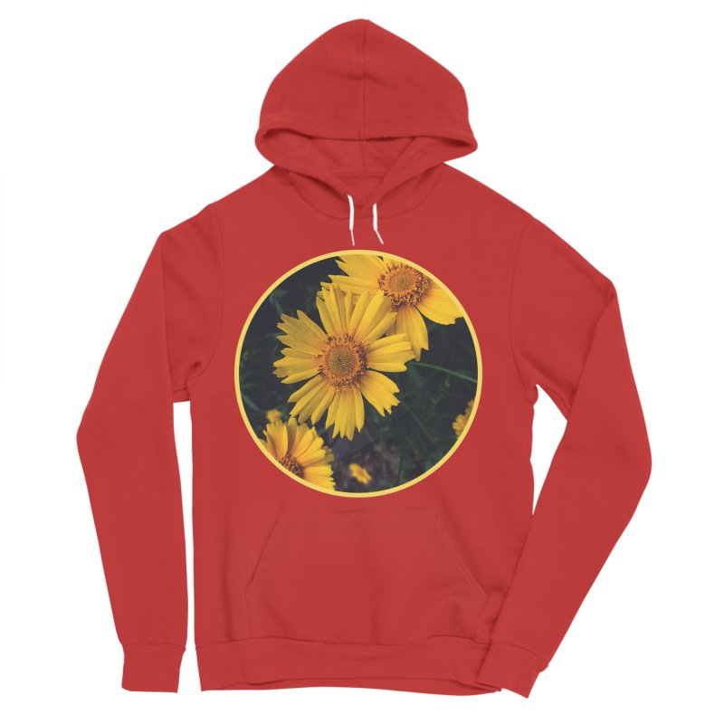 flowers #1 Men's Pullover Hoody by J. Lavallee's Artist Shop