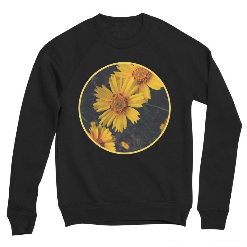 flowers #1 Men's Sponge Fleece Sweatshirt by J. Lavallee's Artist Shop
