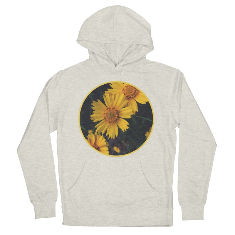 flowers #1 Men's French Terry Pullover Hoody by J. Lavallee's Artist Shop
