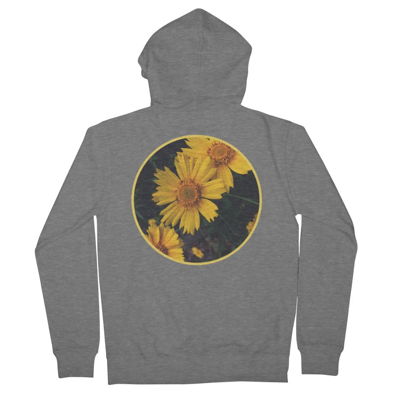 flowers #1 Women's French Terry Zip-Up Hoody by J. Lavallee's Artist Shop