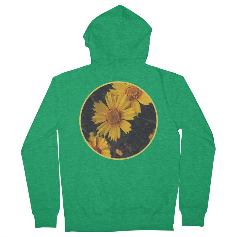 flowers #1 Men's French Terry Zip-Up Hoody by J. Lavallee's Artist Shop