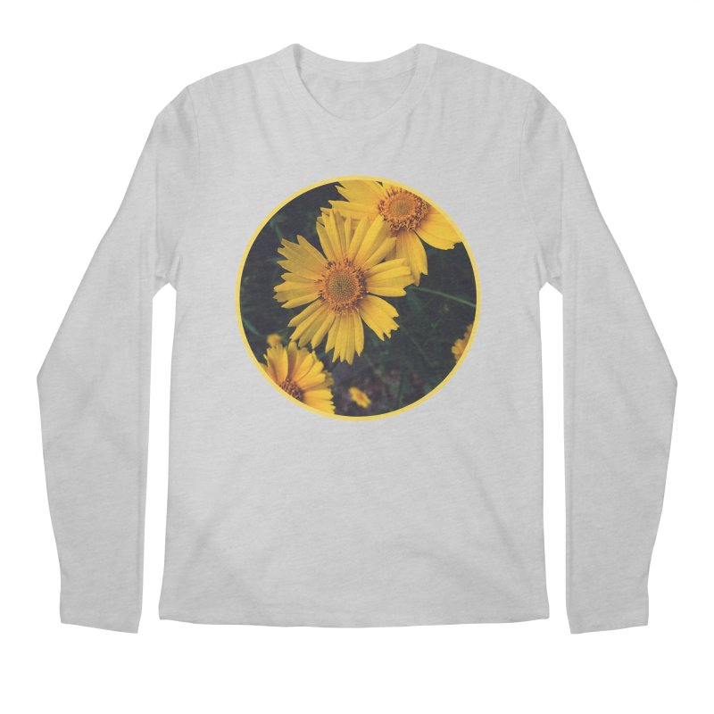 flowers #1 Men's Regular Longsleeve T-Shirt by J. Lavallee's Artist Shop
