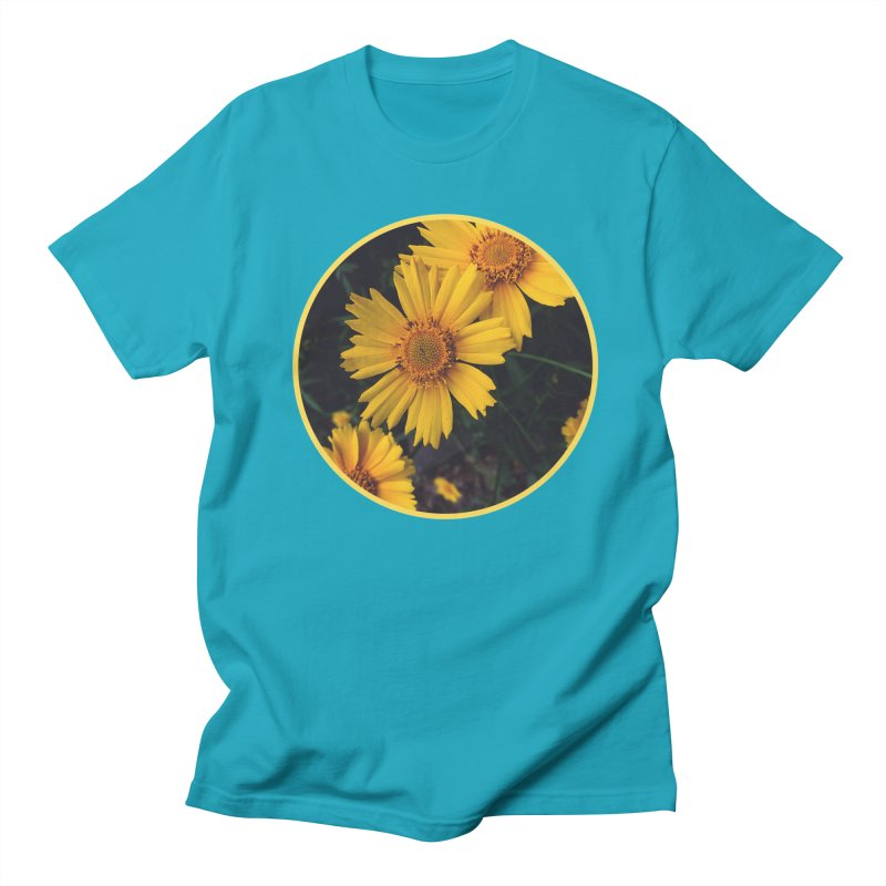 flowers #1 Men's Regular T-Shirt by J. Lavallee's Artist Shop