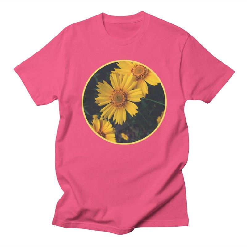 flowers #1 Men's Regular T-Shirt by J. Lavallee's Artist Shop