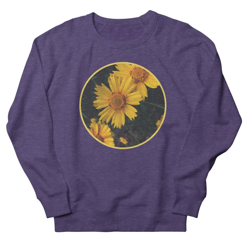flowers #1 Men's French Terry Sweatshirt by J. Lavallee's Artist Shop
