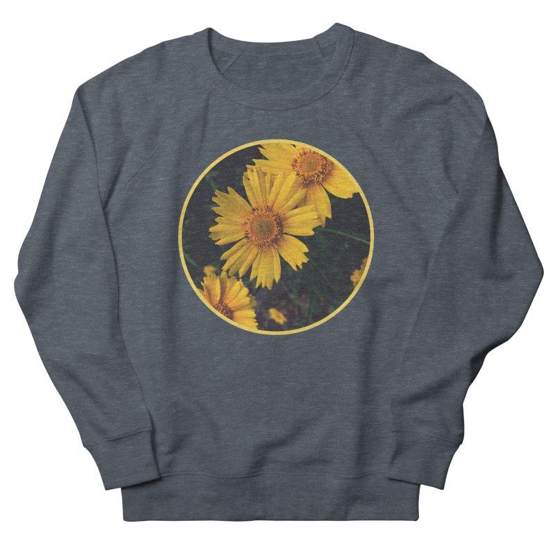 flowers #1 Men's French Terry Sweatshirt by J. Lavallee's Artist Shop