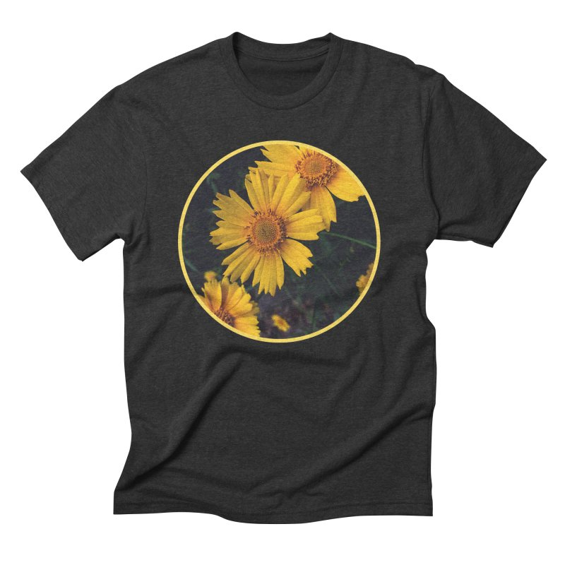 flowers #1 Men's Triblend T-Shirt by J. Lavallee's Artist Shop