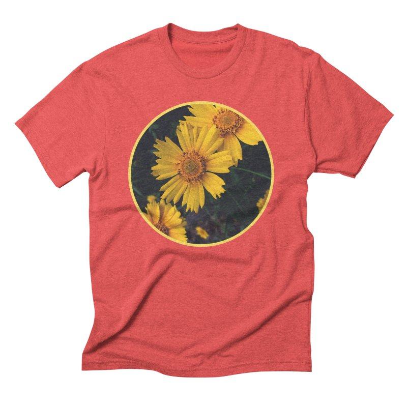 flowers #1 Men's Triblend T-Shirt by J. Lavallee's Artist Shop