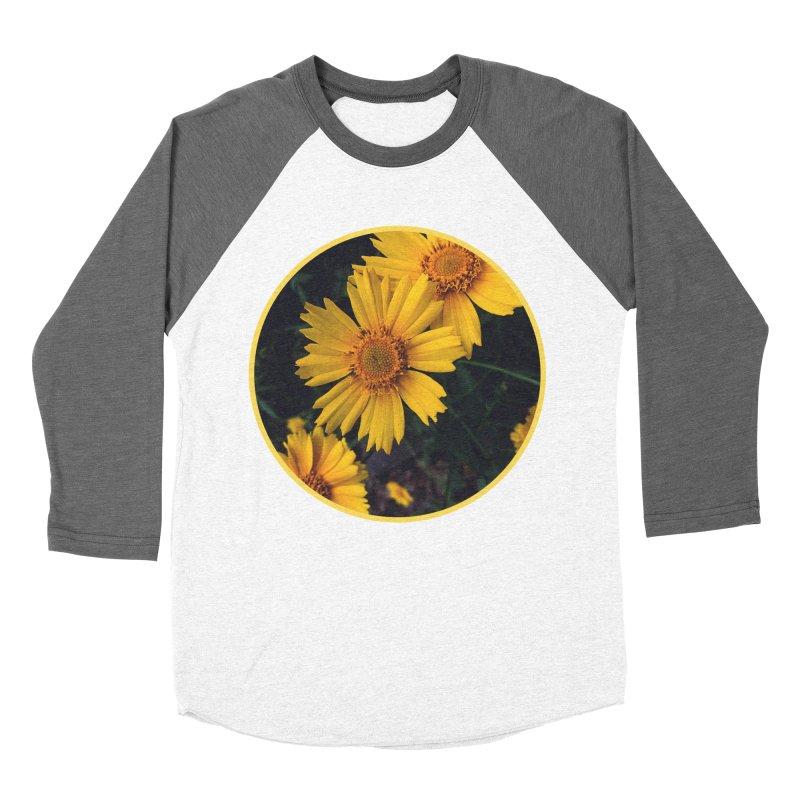 flowers #1 Women's Baseball Triblend Longsleeve T-Shirt by J. Lavallee's Artist Shop