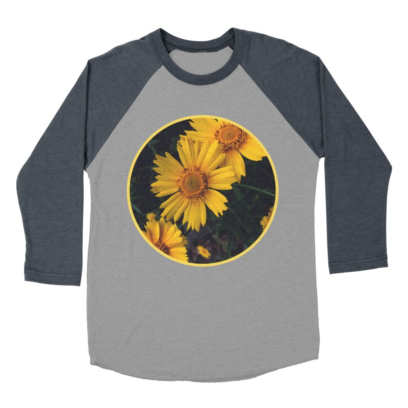 flowers #1 Women's Baseball Triblend Longsleeve T-Shirt by J. Lavallee's Artist Shop