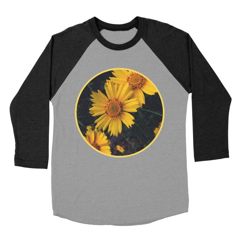 flowers #1 Men's Baseball Triblend Longsleeve T-Shirt by J. Lavallee's Artist Shop