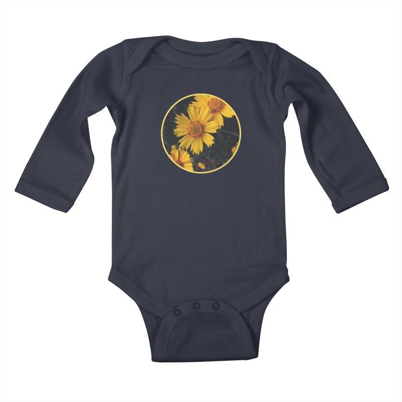 flowers #1 Kids Baby Longsleeve Bodysuit by J. Lavallee's Artist Shop