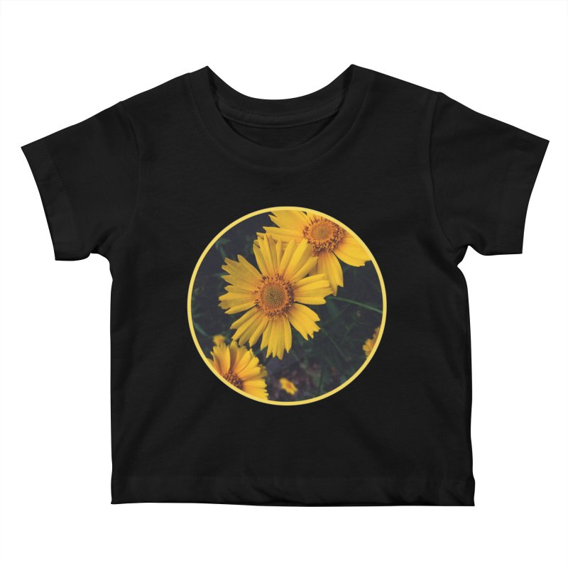 flowers #1 Kids Baby T-Shirt by J. Lavallee's Artist Shop