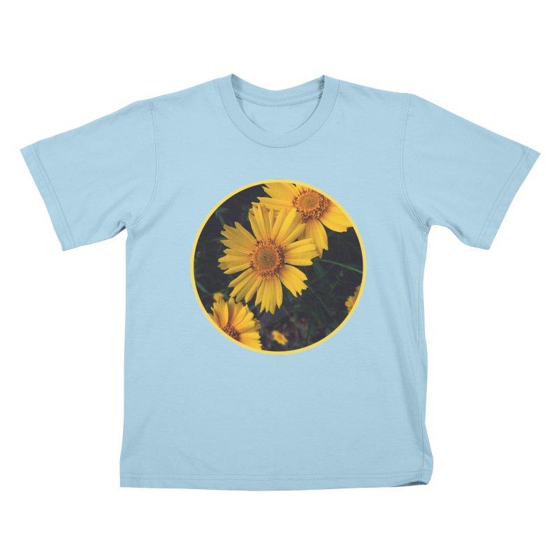 flowers #1 Kids T-Shirt by J. Lavallee's Artist Shop