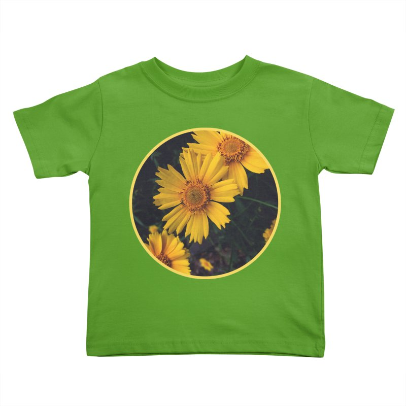 flowers #1 Kids Toddler T-Shirt by J. Lavallee's Artist Shop