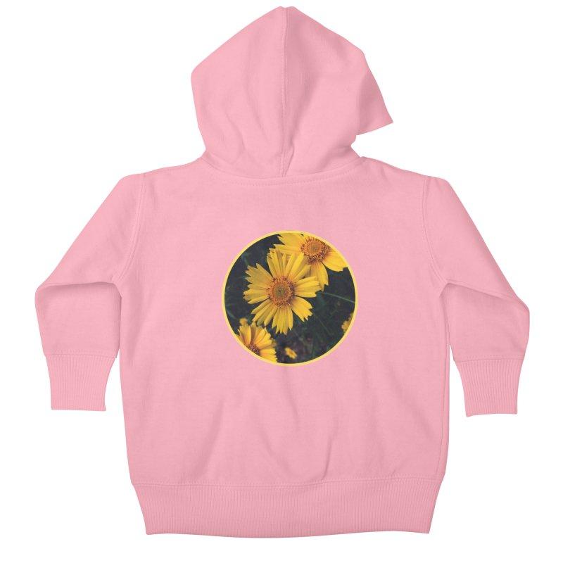 flowers #1 Kids Baby Zip-Up Hoody by J. Lavallee's Artist Shop