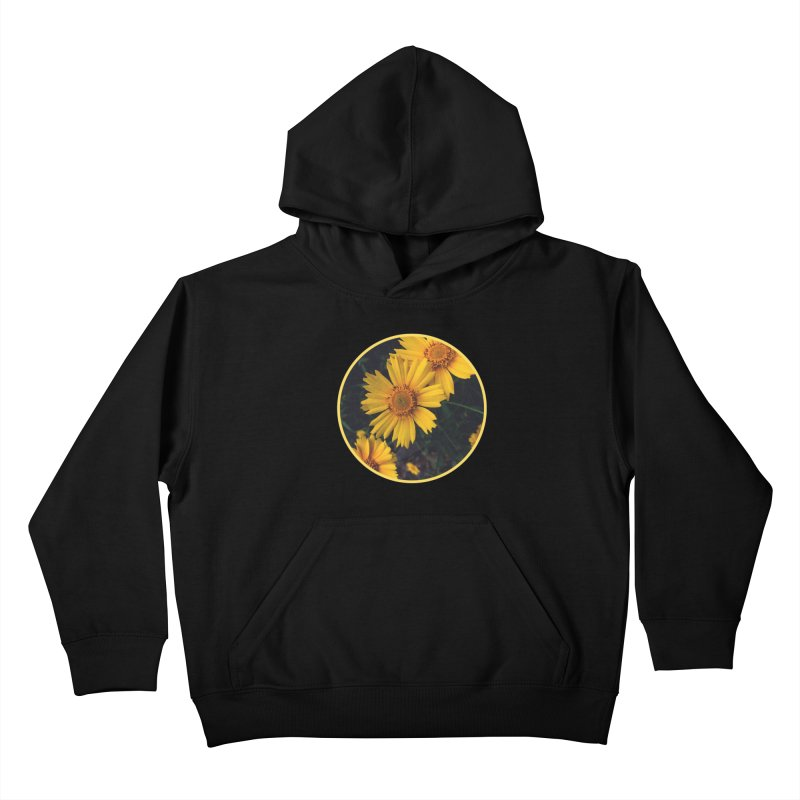 flowers #1 Kids Pullover Hoody by J. Lavallee's Artist Shop