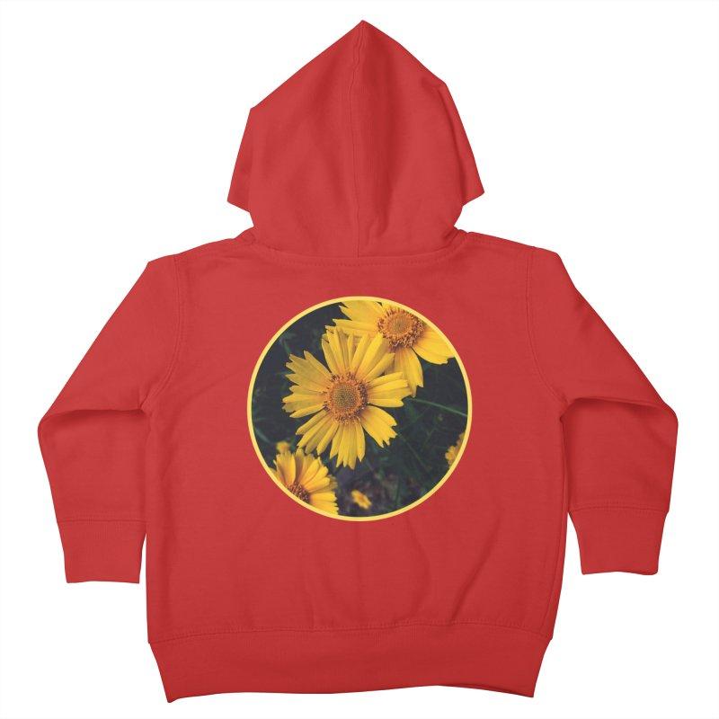 flowers #1 Kids Toddler Zip-Up Hoody by J. Lavallee's Artist Shop