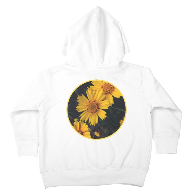 flowers #1 Kids Toddler Zip-Up Hoody by J. Lavallee's Artist Shop