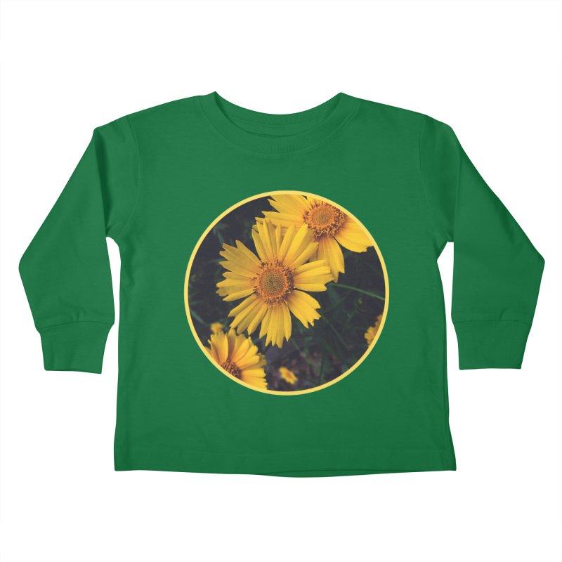 flowers #1 Kids Toddler Longsleeve T-Shirt by J. Lavallee's Artist Shop