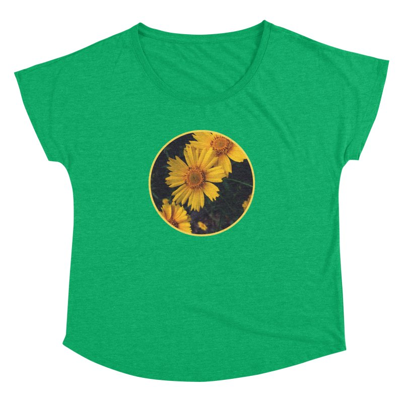 flowers #1 Women's Dolman Scoop Neck by J. Lavallee's Artist Shop