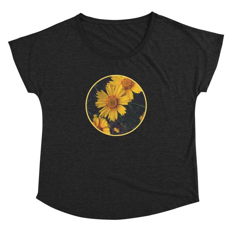 flowers #1 Women's Dolman Scoop Neck by J. Lavallee's Artist Shop