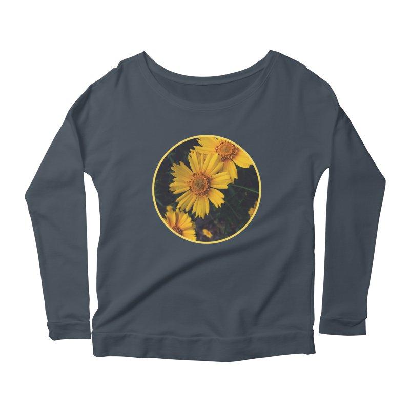 flowers #1 Women's Scoop Neck Longsleeve T-Shirt by J. Lavallee's Artist Shop