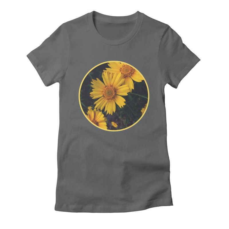 flowers #1 Women's Fitted T-Shirt by J. Lavallee's Artist Shop