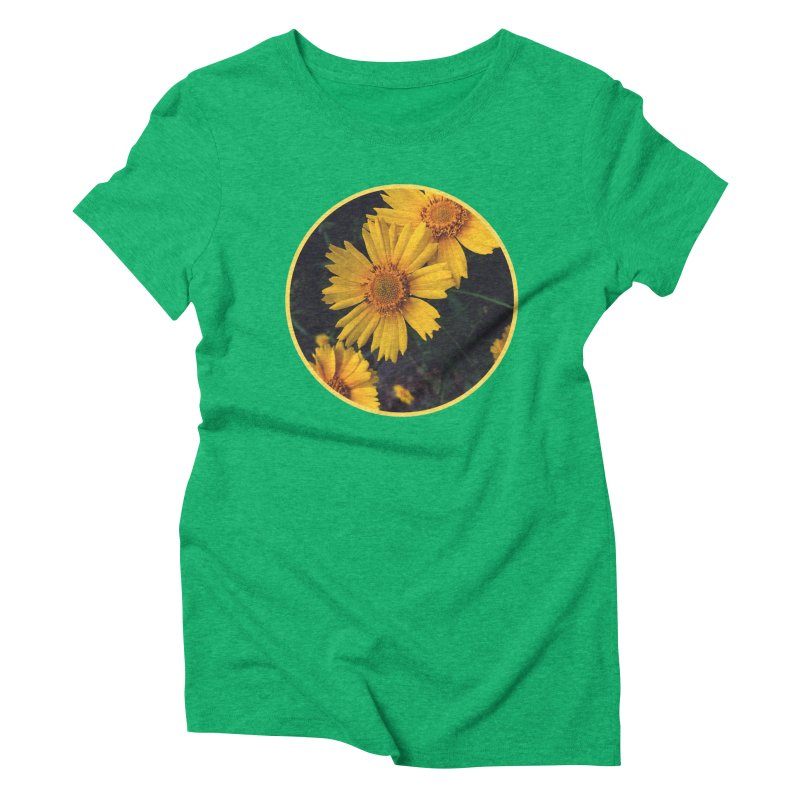 flowers #1 Women's Triblend T-Shirt by J. Lavallee's Artist Shop
