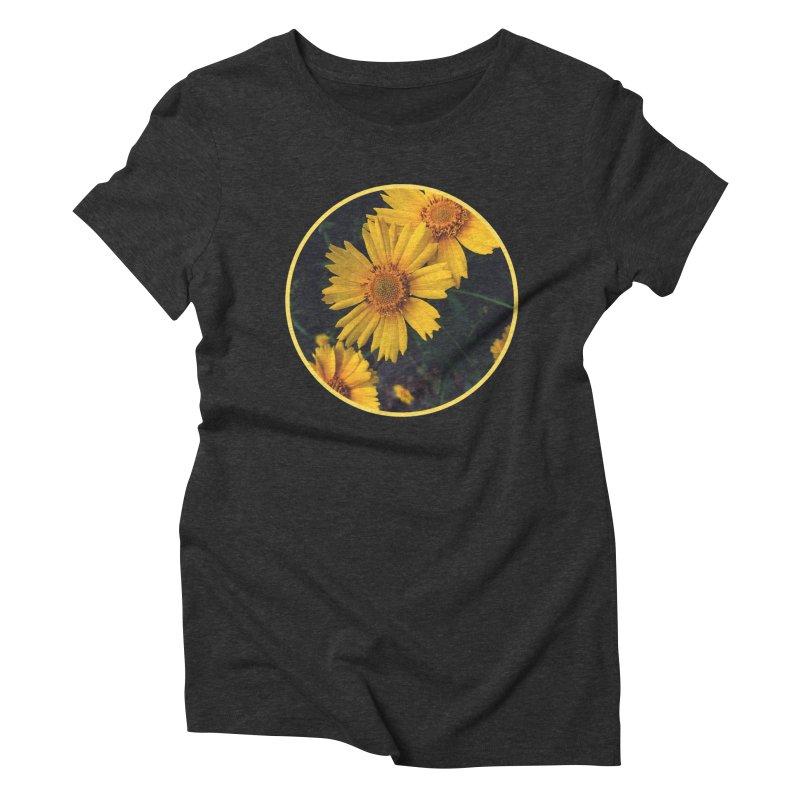 flowers #1 Women's Triblend T-Shirt by J. Lavallee's Artist Shop