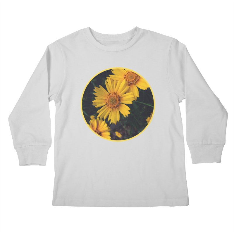 flowers #1 Kids Longsleeve T-Shirt by J. Lavallee's Artist Shop