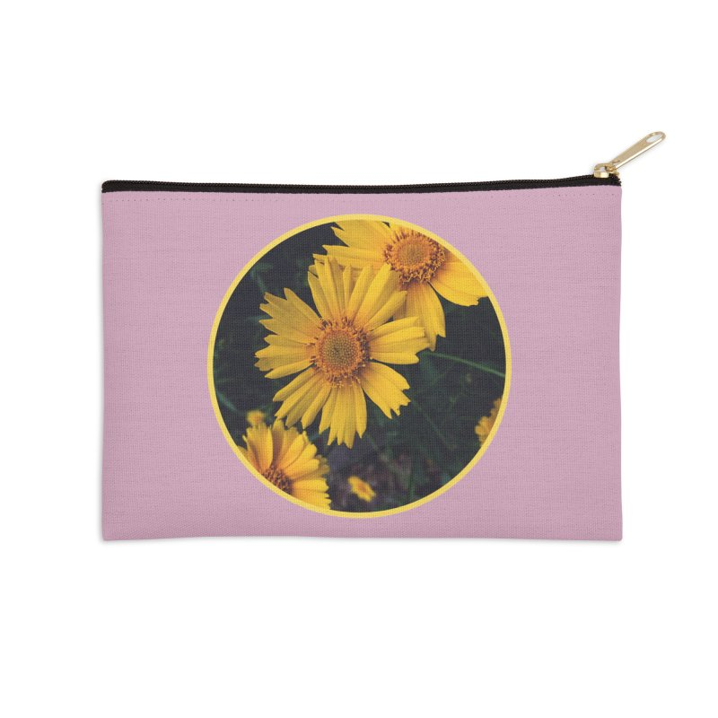 flowers #1 Accessories Zip Pouch by J. Lavallee's Artist Shop