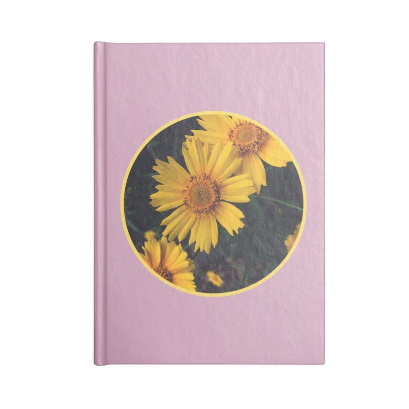 flowers #1 Accessories Lined Journal Notebook by J. Lavallee's Artist Shop