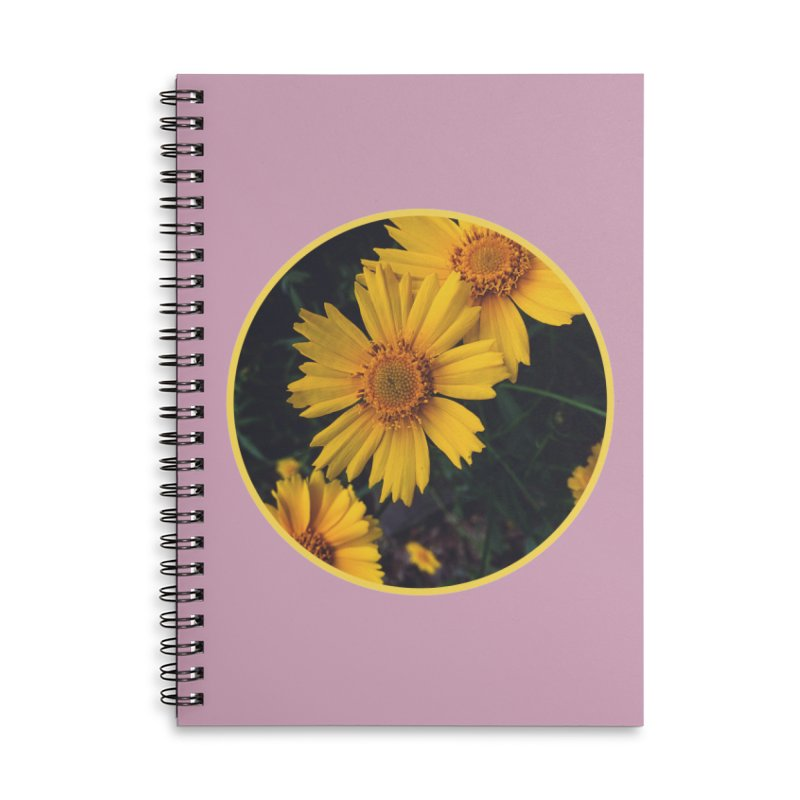 flowers #1 Accessories Lined Spiral Notebook by J. Lavallee's Artist Shop