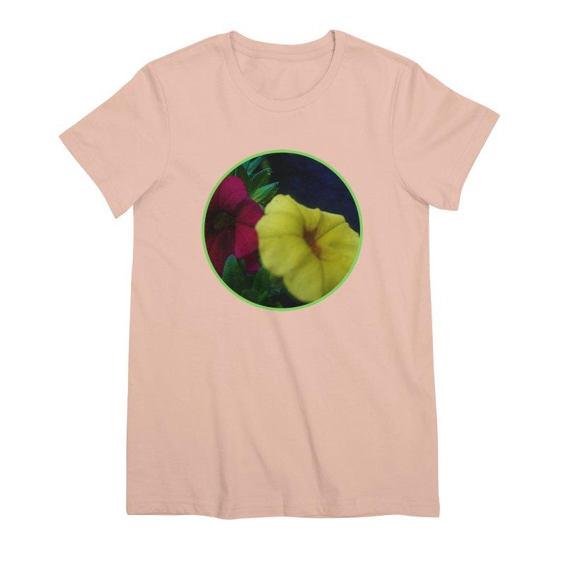 flowers #2 Women's Premium T-Shirt by J. Lavallee's Artist Shop