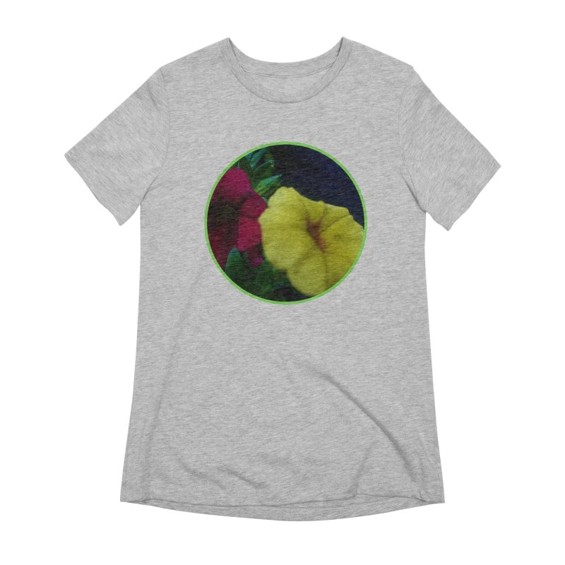 flowers #2 Women's Extra Soft T-Shirt by J. Lavallee's Artist Shop