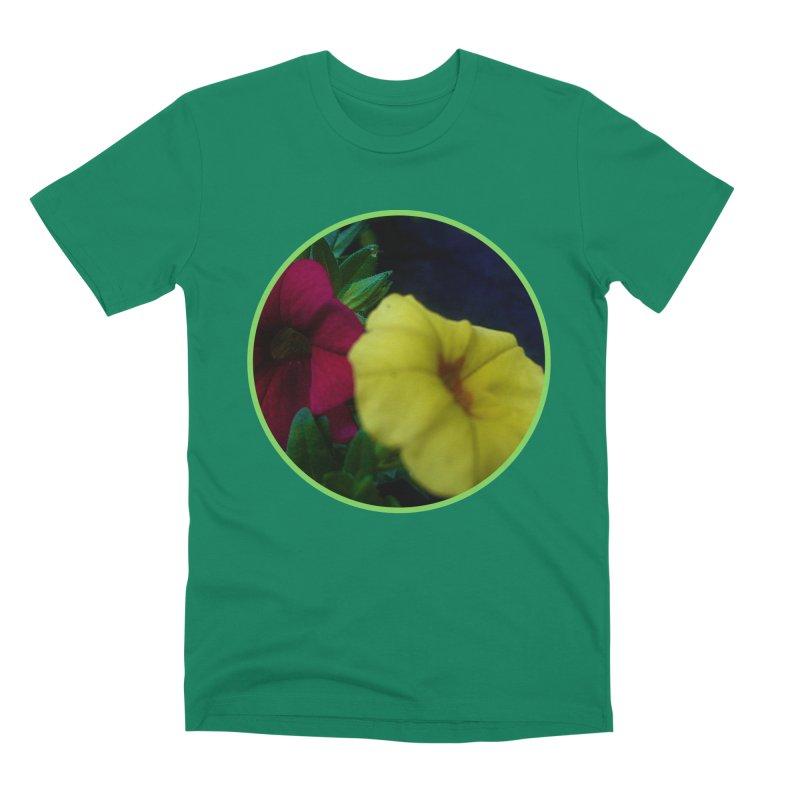 flowers #2 Men's Premium T-Shirt by J. Lavallee's Artist Shop