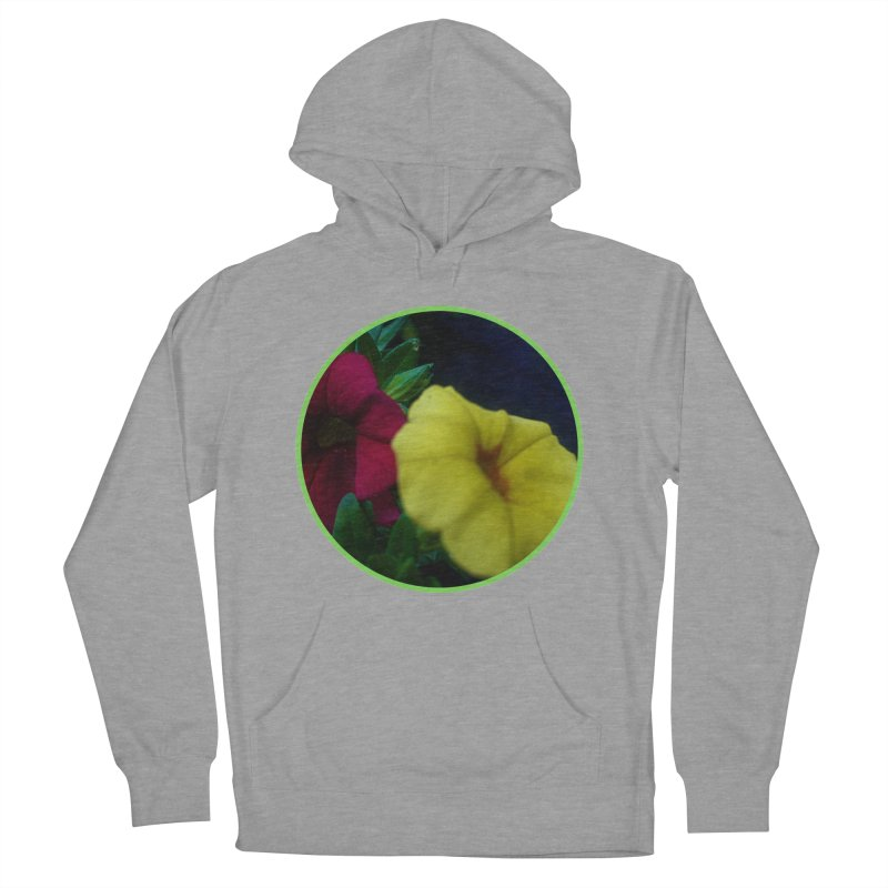 flowers #2 Men's French Terry Pullover Hoody by J. Lavallee's Artist Shop
