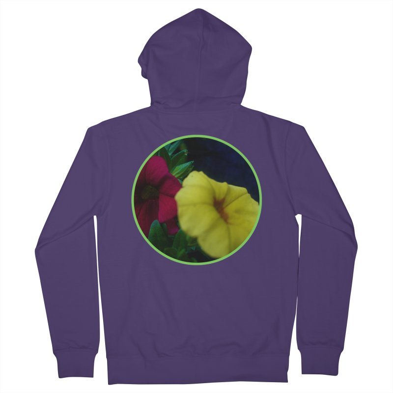 flowers #2 Women's French Terry Zip-Up Hoody by J. Lavallee's Artist Shop