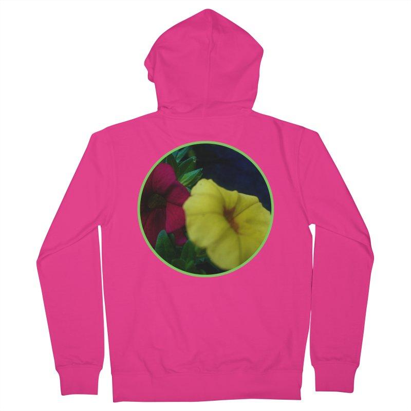 flowers #2 Men's Zip-Up Hoody by J. Lavallee's Artist Shop