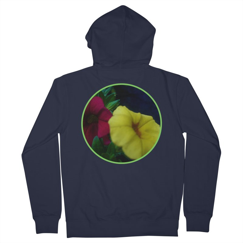 flowers #2 Men's Zip-Up Hoody by J. Lavallee's Artist Shop