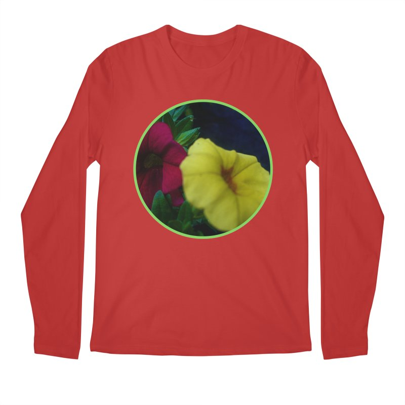 flowers #2 Men's Regular Longsleeve T-Shirt by J. Lavallee's Artist Shop